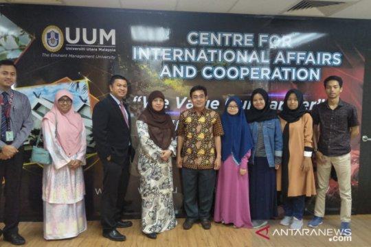 Mahasiswa Uniku ikuti program transfer kredit di UUM Malaysia