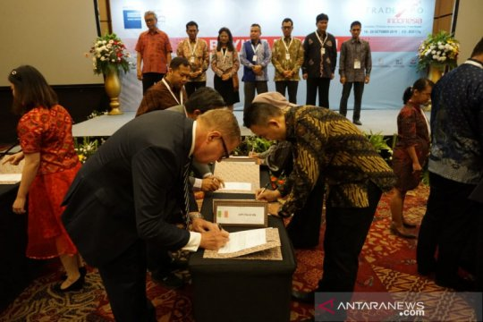Pengusaha Indonesia-Italia teken kontrak dagang 60 juta dolar AS