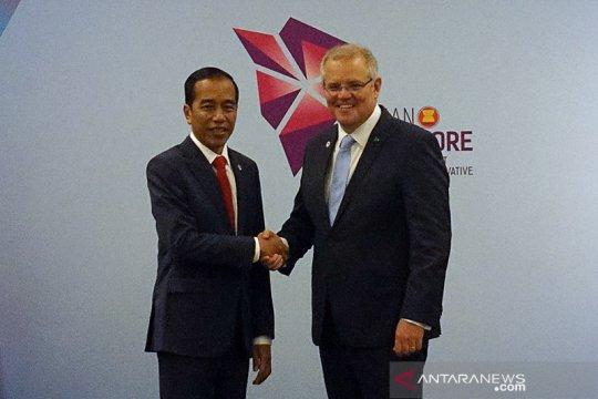 Pelantikan Presiden Jokowi akan dihadiri PM Australia Scott Morrison