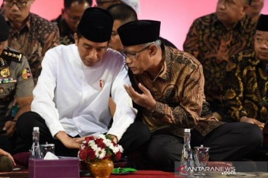 Muhammadiyah dorong Jokowi-Ma'ruf dapat hadapi tantangan