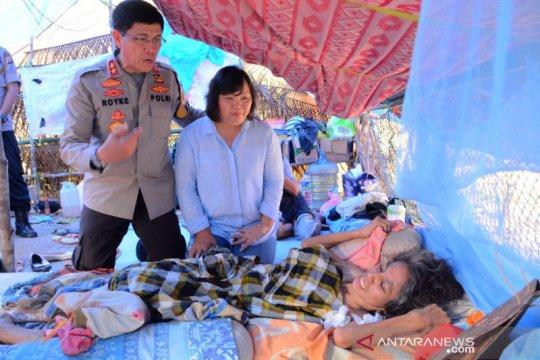 Kapolda tawarkan pengobatan gratis penderita kanker di pengungsian