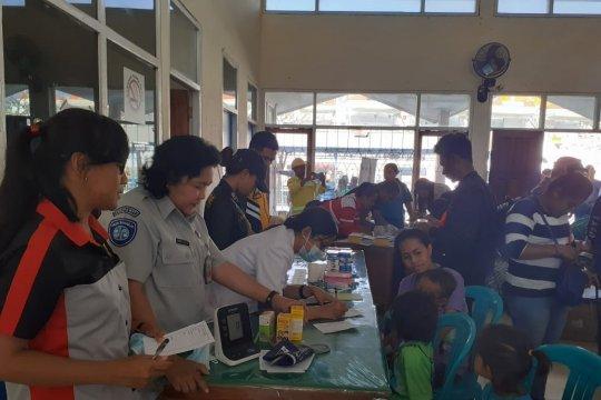Jasa Raharja buka posko kesehatan bagi pengungsi Wamena asal NTT
