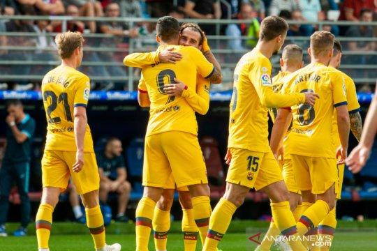Hasil pertandingan dan klasemen sementara Liga Spanyol