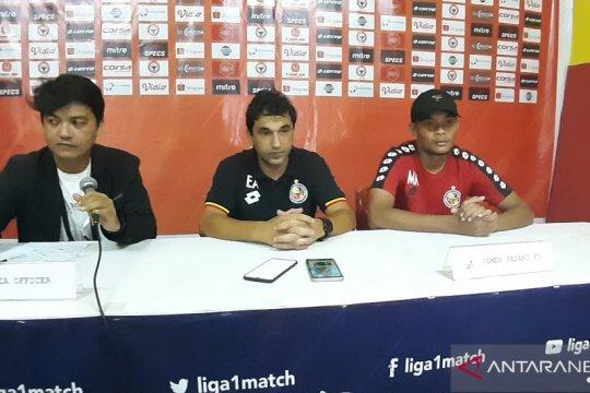 Pelatih Semen Padang minta maaf setelah kalah dari Madura United
