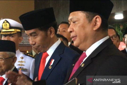 Ketua MPR ajak masyarakat gotong royong hadapi tantangan ke depan