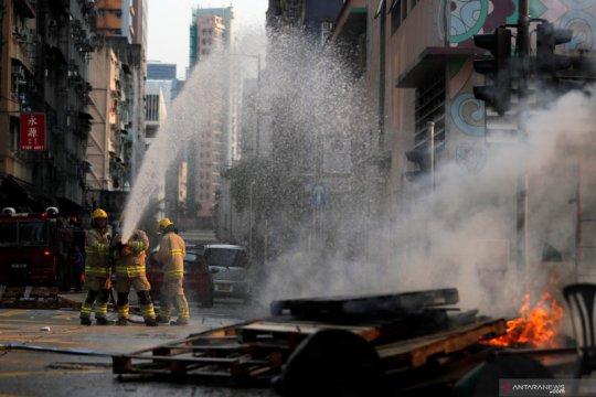 Permukiman di Hong Kong terbakar, tujuh tewas