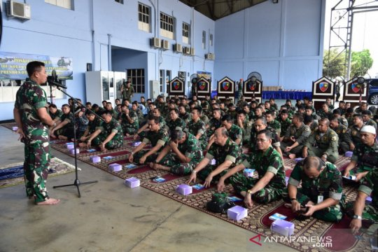 Pelantikan presiden, Alumni Angkatan Udara gelar doa bersama