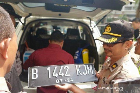 Pelantikan presiden, polisi amankan mobil mencurigakan di Jaksel
