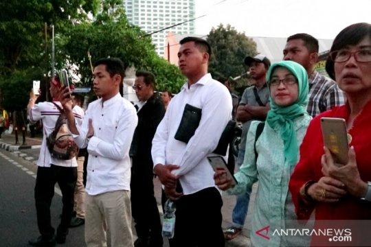 "Pelantikan presiden, relawan pendukung ""live streaming"" Jokowi"