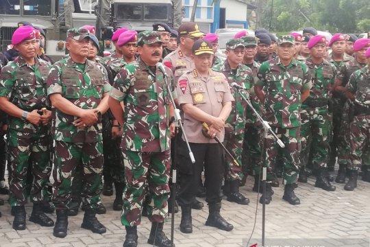 Panglima TNI pantau kesiapan pengamanan pelantikan presiden