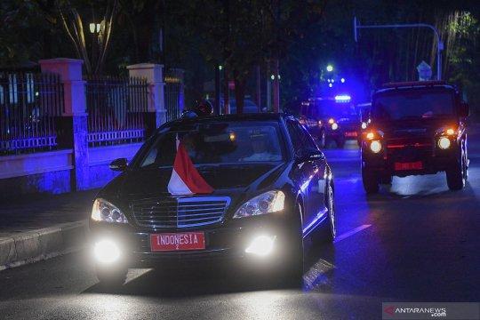 Wapres Ma'ruf Amin tiba di rumah dinas