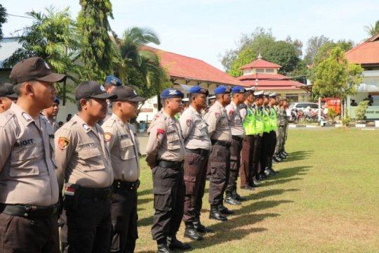 Jaga keamanan, ratusan aparat gabungan TNI-Polri Merauke disiagakan