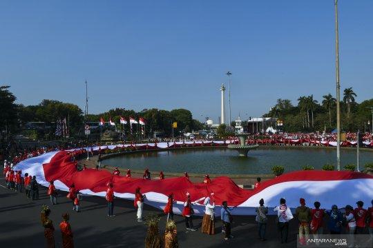 Pesta rakyat sambut presiden dan wakil presiden