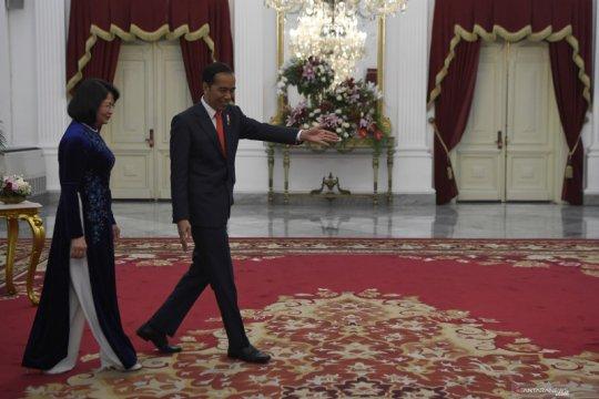 Presiden terima kunjungan kehormatan Wapres Vietnam