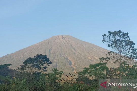 Semua jalur pendakian Gunung Rinjani Lombok ditutup akibat hutan terbakar