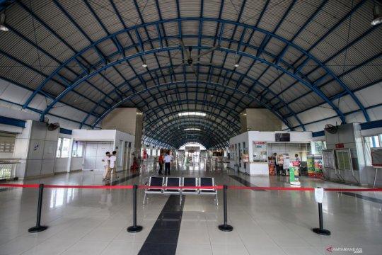 Jelang pelantikan presiden, stasiun Palmerah tidak melayani penumpang