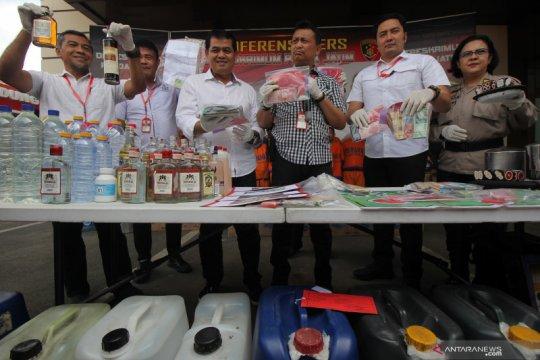 Kasus peredaran miras dan perjudian di Jawa Timur