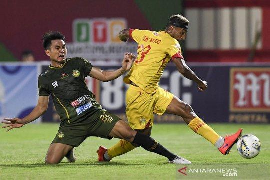 Dua gol Bruno Matos bawa Bhayangkara taklukkan Tira Persikabo 2-0