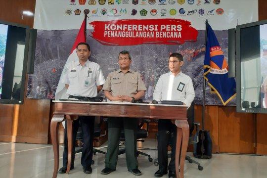 BNPB: Belum ada penurunan jumlah personel dalam penanganan karhutla