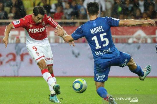 Monaco tundukkan Rennes 3-2 setelah bangkit dari ketertinggalan