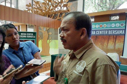 KLHK: Hutan dan gambut terbakar hingga September totalnya 857.756 ha
