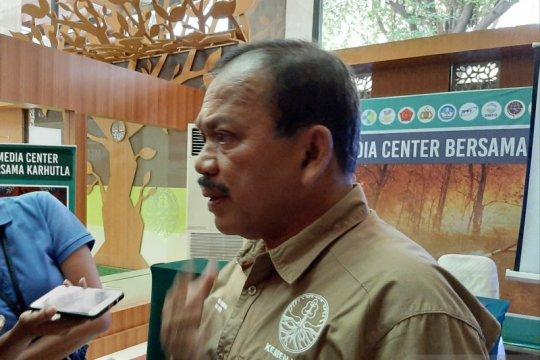 KLHK: Penambahan luas kebakaran hutan akan turun pada Oktober