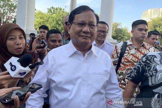Prabowo tiba di istana temui Presiden