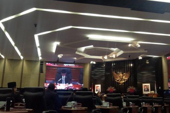 Sidang paripurna umumkan Alat Kelengkapan DPRD DKI Jakarta