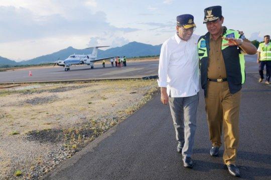 Kemenhub berencana perpanjang landasan pacu Bandara Letung pada 2021