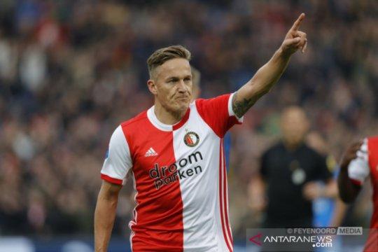Feyenoord gagal sodok posisi delapan usai ditahan Heracles