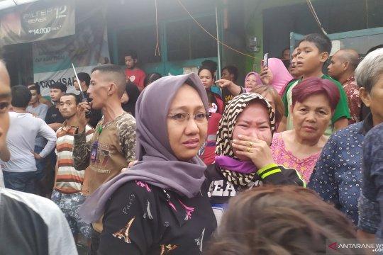 Isak tangis dan jeritan korban kebakaran di Jalan Sentosa Lama Medan
