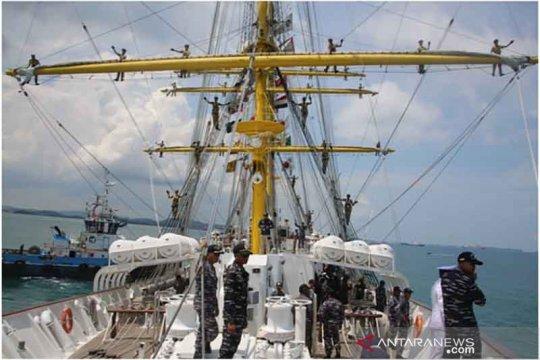 KRI Bima Suci-945 lakukan lawatan ke Pulau Dewata pada 23-25 Oktober