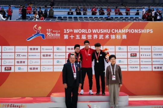 Edgar Xavier sabet emas kejuaraan dunia wushu di China