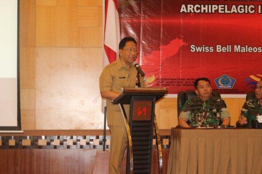 Persiapan pertemuan forum negara kepulauan di Sulut terus dimatangkan