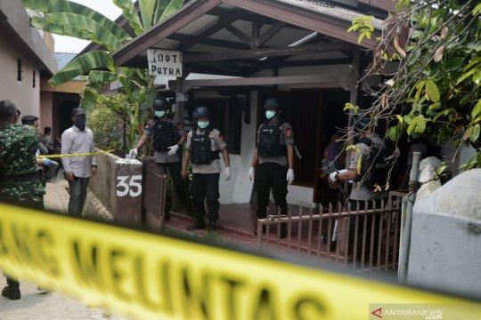 Penggeledahan rumah terduga teroris di Lampung