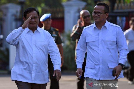 Prabowo datang ke istana Kepresidenan