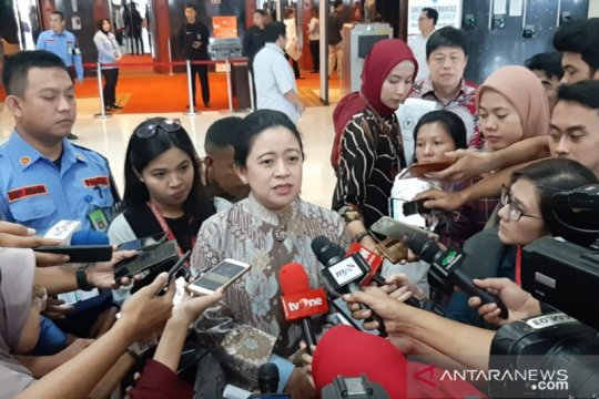 Puan minta para menteri Kabinet Indonesia Maju bersinergi