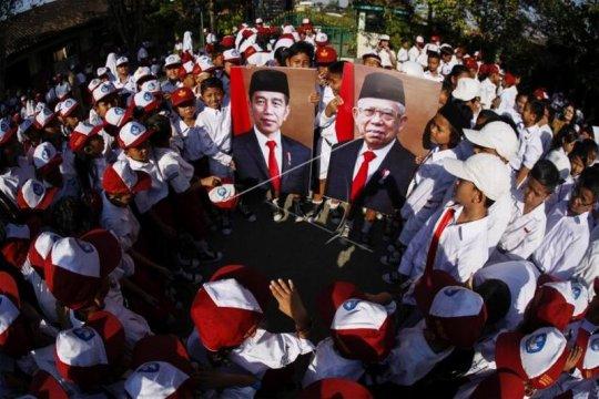 Foto Presiden Joko Widodo dan dan Wakil Presiden Ma'ruf Amin