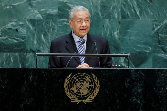 Mahathir ingatkan kemungkinan sanksi dagang terhadap Malaysia