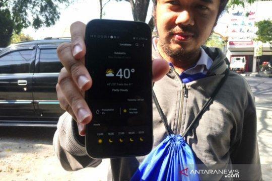 BMKG: Data kami suhu udara di Solo tidak 40 derajat
