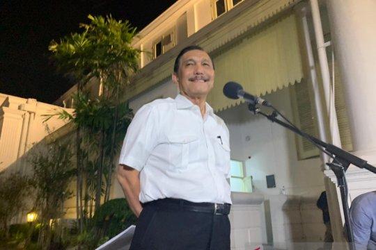 Luhut diminta Jokowi tangani kemaritiman dan investasi