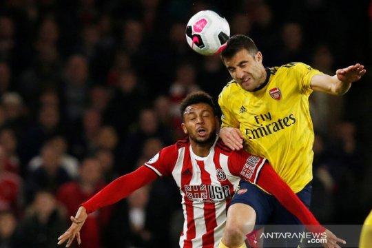 Arsenal menyerah di kandang Sheffield United