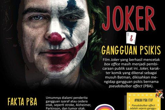 Joker dan gangguan psikis