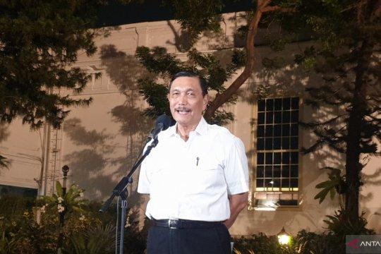 Presiden bahas target pengelolaan sumber daya mineral dengan Luhut