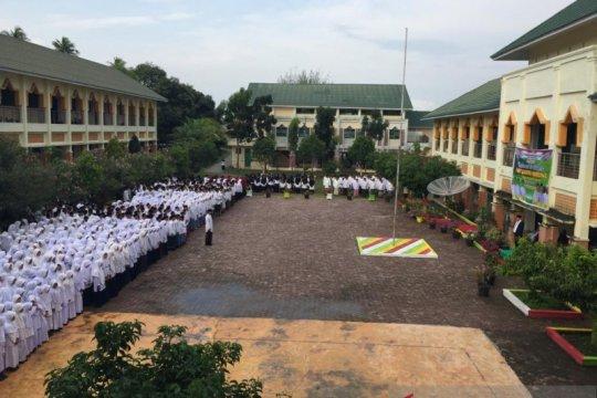 Hari Santri di Aceh diawali dari titik nol Indonesia
