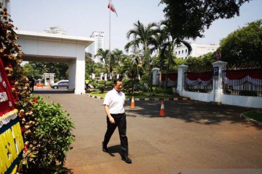 Presiden panggil Juliari Batubara dan Siti Nurbaya