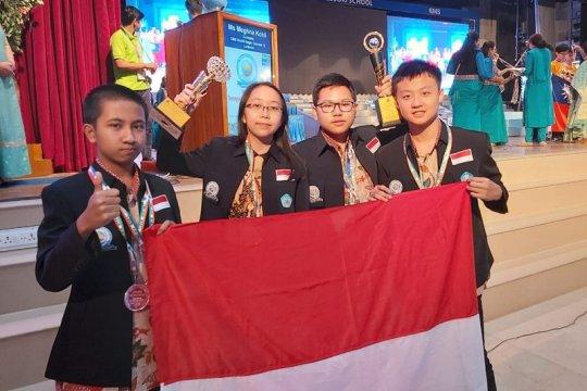 Pelajar Indonesia sabet juara umum olimpiade internasional matematika