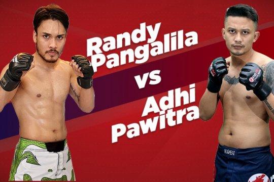 Randy Pangalila coba kekuatan Adhi Pawitra di One Pride Celebrity