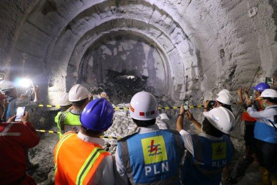 Konstruksi pembangunan PLTA Jatigede capai 70 persen