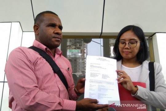 Aktivis Papua Surya Anta ajukan praperadilan di Pengadilan Jaksel